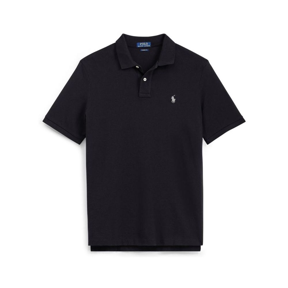 Ralph Lauren Slim Fit Polo Black
