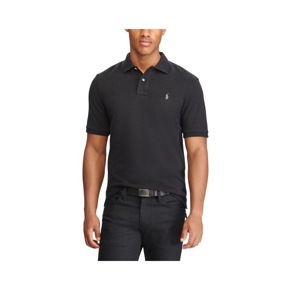 Polo Ralph Lauren Slim Fit Polo Black - Mau Feitio 2d1dcfaf81c