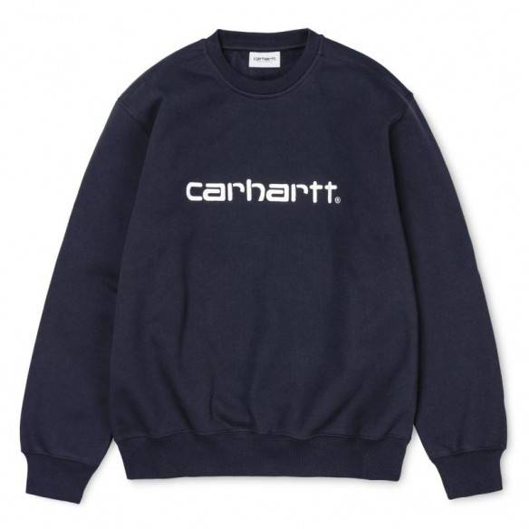 Carhartt Sweatshirt Dark Navy Wax