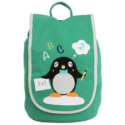 Janod Mochila Smart Pinguin Green