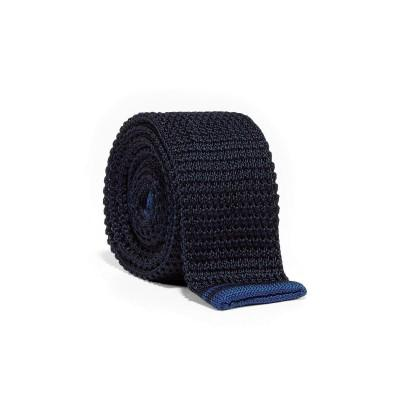 Fred Perry Silk Knitted Tie Navy