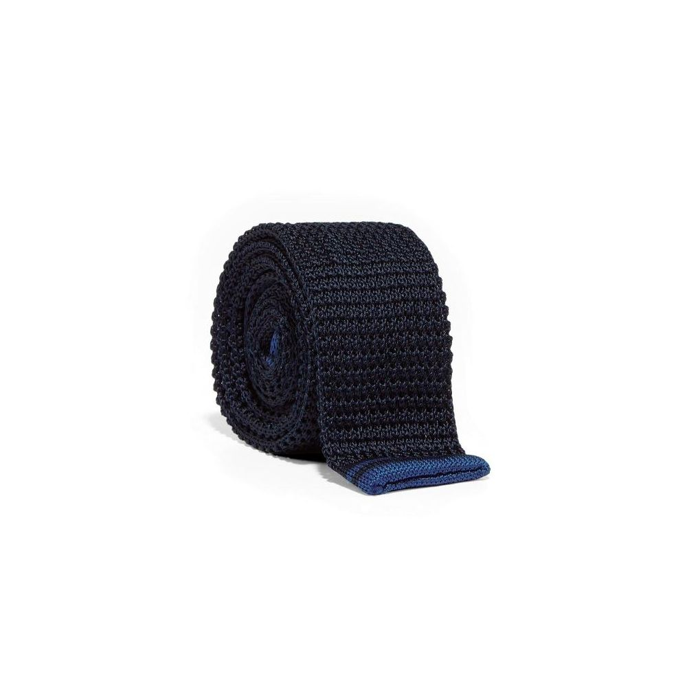 Fred Perry Gravata Silk Knitted Navy