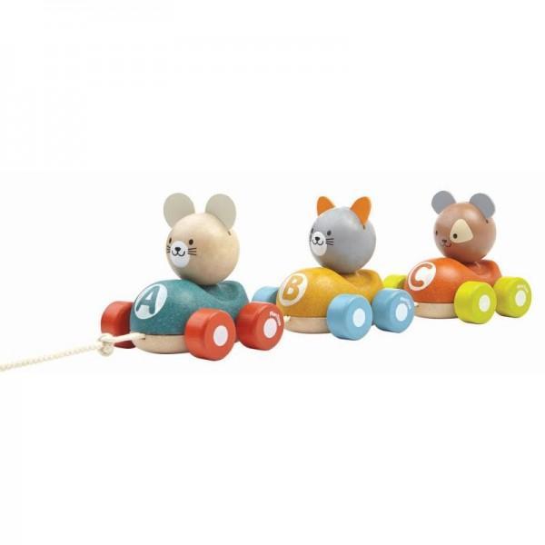 Plan Toys Comboio de Animais