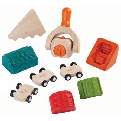 Plan Toys Constroi uma Cidade Set de Plasticina