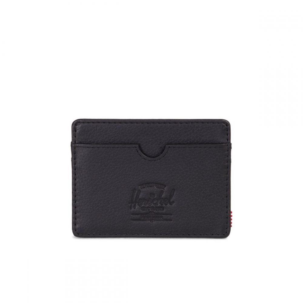 Herschel Carteira Charlie + Black Pebble Leather