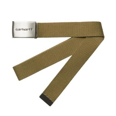 Carhartt Clip Belt Chrome Hamilton Brown