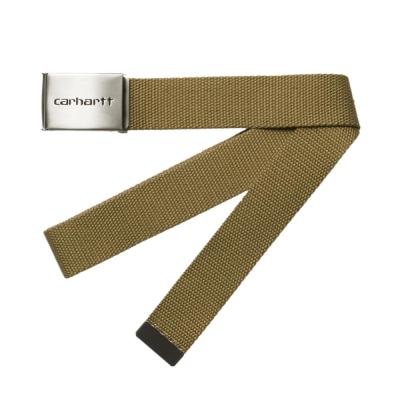 Carhartt Clip Belt Chrome Hamilton Brown