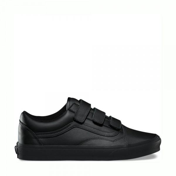 Vans Mono Leather Old Skool V Black