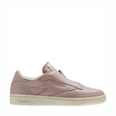 Reebok Club C 85 Zip Pink White Silver
