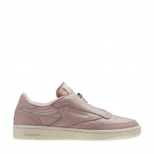 Reebok Club C 85 Zip Pink White Silver