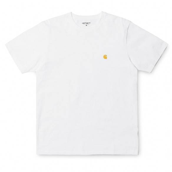 Carhartt T-Shirt Chase White Gold