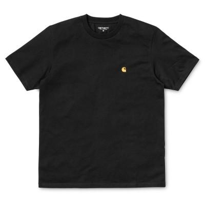 Carhartt Chase T-Shirt Black Gold