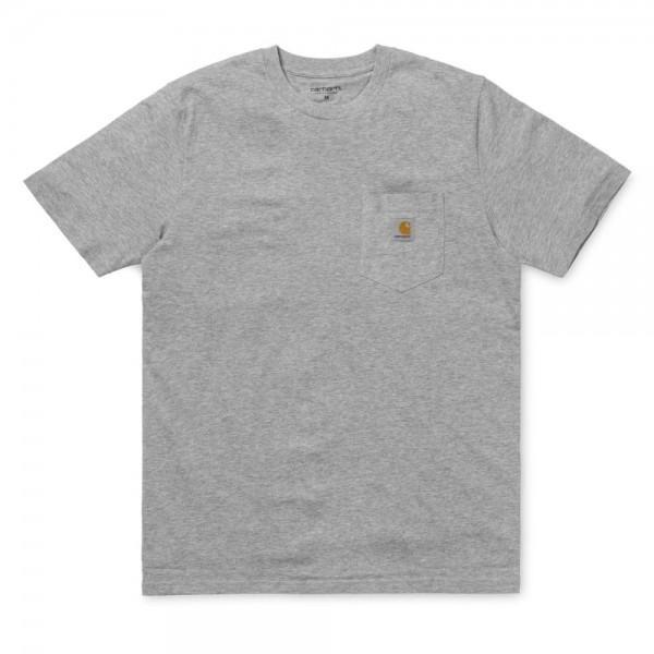 Carhartt Pocket T-Shirt Grey Heather