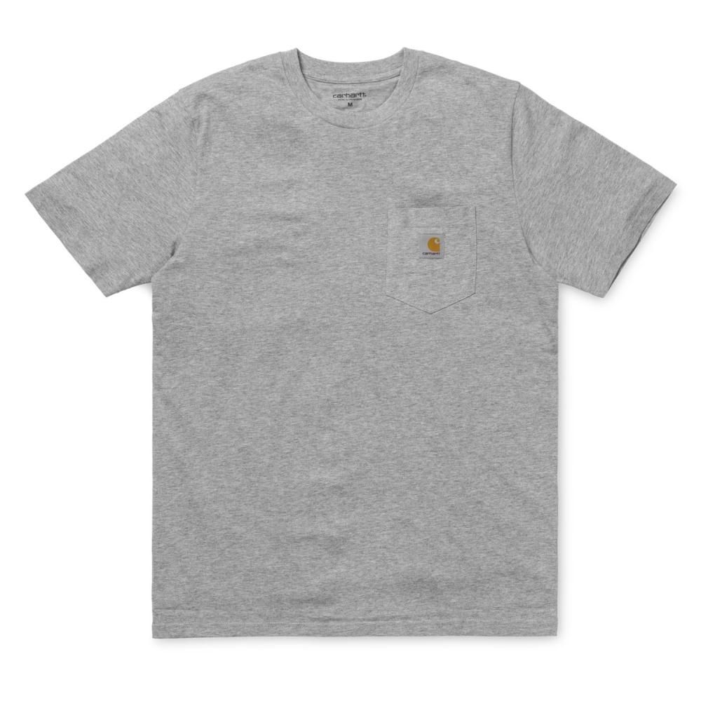 Carhartt T-Shirt Pocket Grey Heather