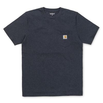 Carhartt T-Shirt Pocket Dark Navy Heather