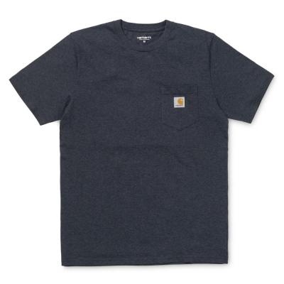 Carhartt Pocket T-Shirt Dark Navy Heather
