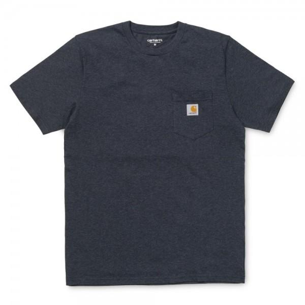 Carhartt Pocket T-Shirt Dark Navy Heather