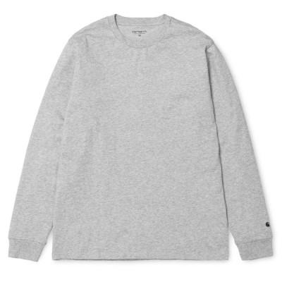 Carhartt LS Base T-Shirt Grey Heather Black