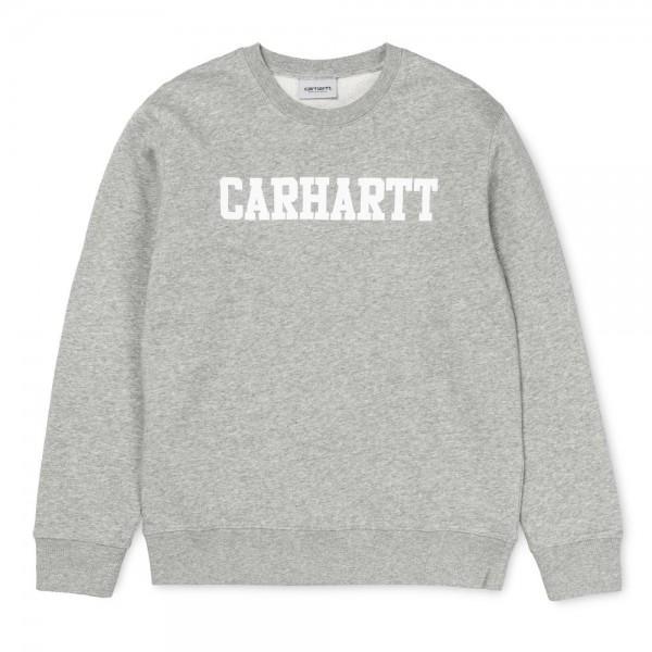 Carhartt College Sweatshirt Grey Heather