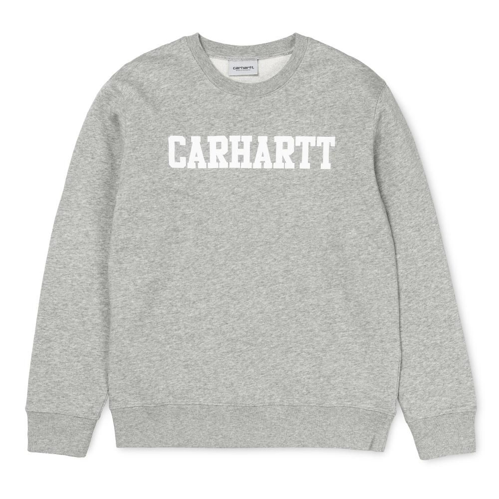 Carhartt College Sweatshirt Grey Heather