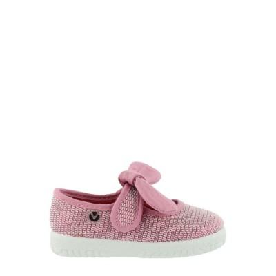 Victoria Mary Jane Lurex 051101 Kids Rosa