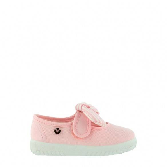 Victoria Mary Jane Canvas 05110 Kids Rosa