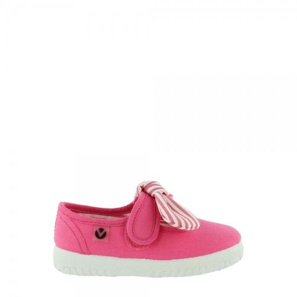 Victoria Mary Jane Canvas 05110 Kids Fuschia