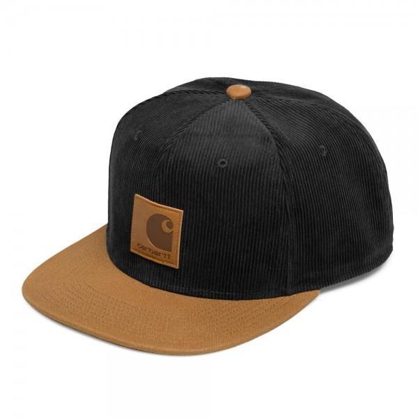 Carhartt Gibson Cap Black Hamilton Brown