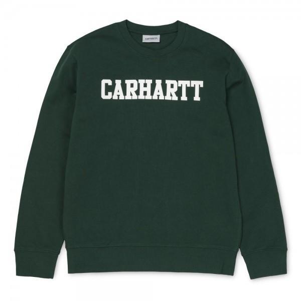 Carhartt College Sweatshirt Tasmania White