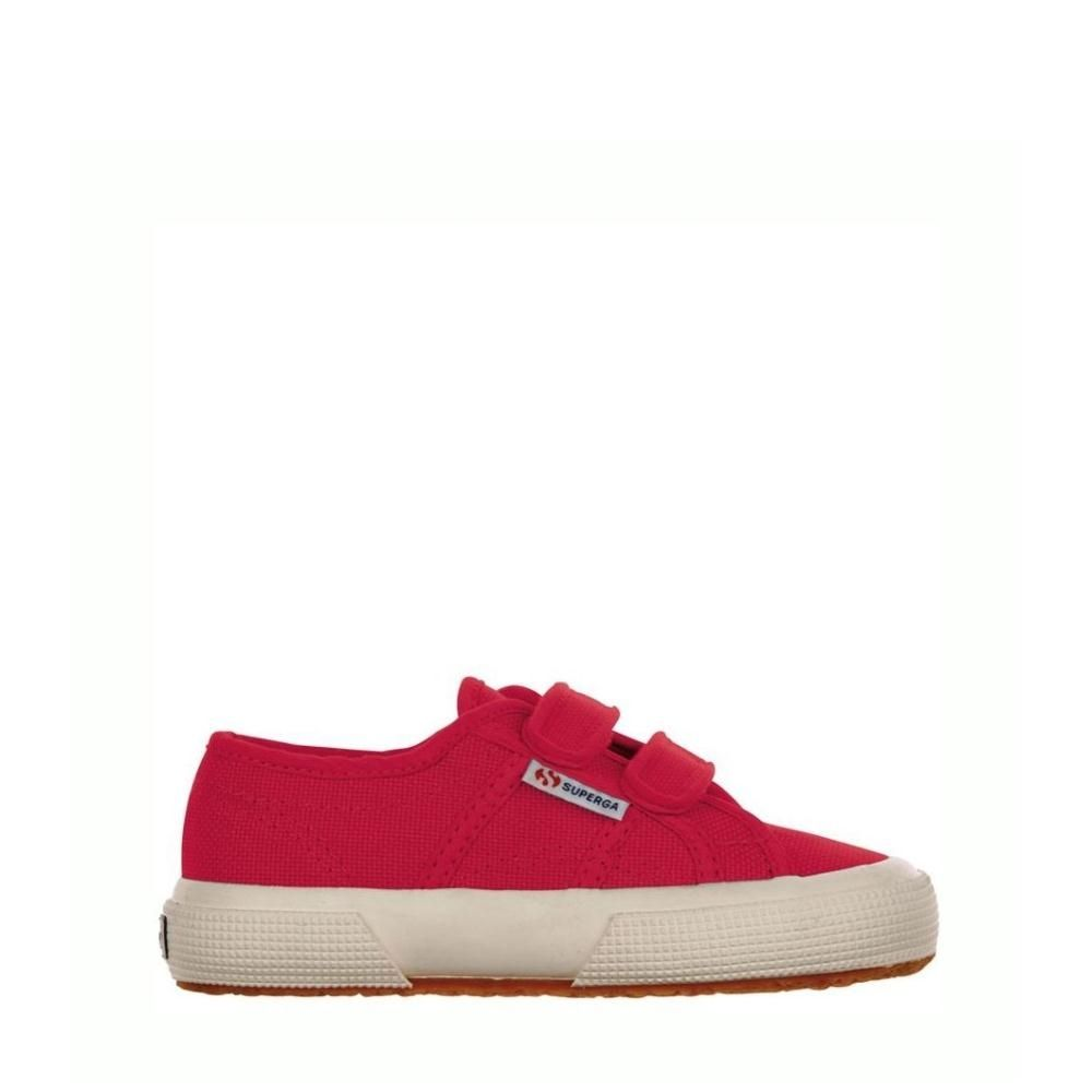 Superga Kids 2750 Cotjstrap Classic Red