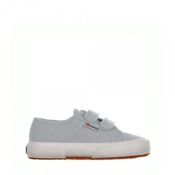 Superga Kids 2750 Cotjstrap Classic Light Grey