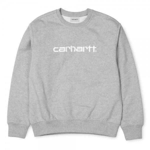 Carhartt Sweatshirt Grey Heather Wax