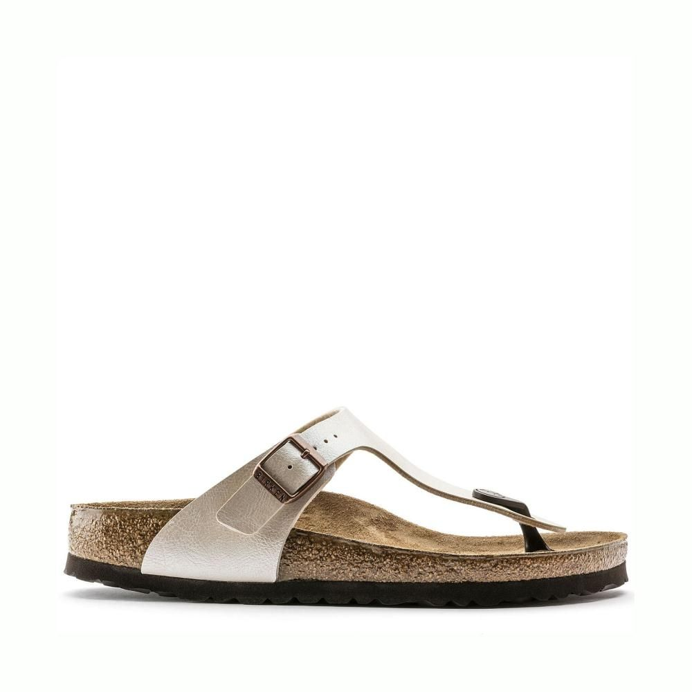 Birkenstock Gizeh 0943871 Graceful Pearl White