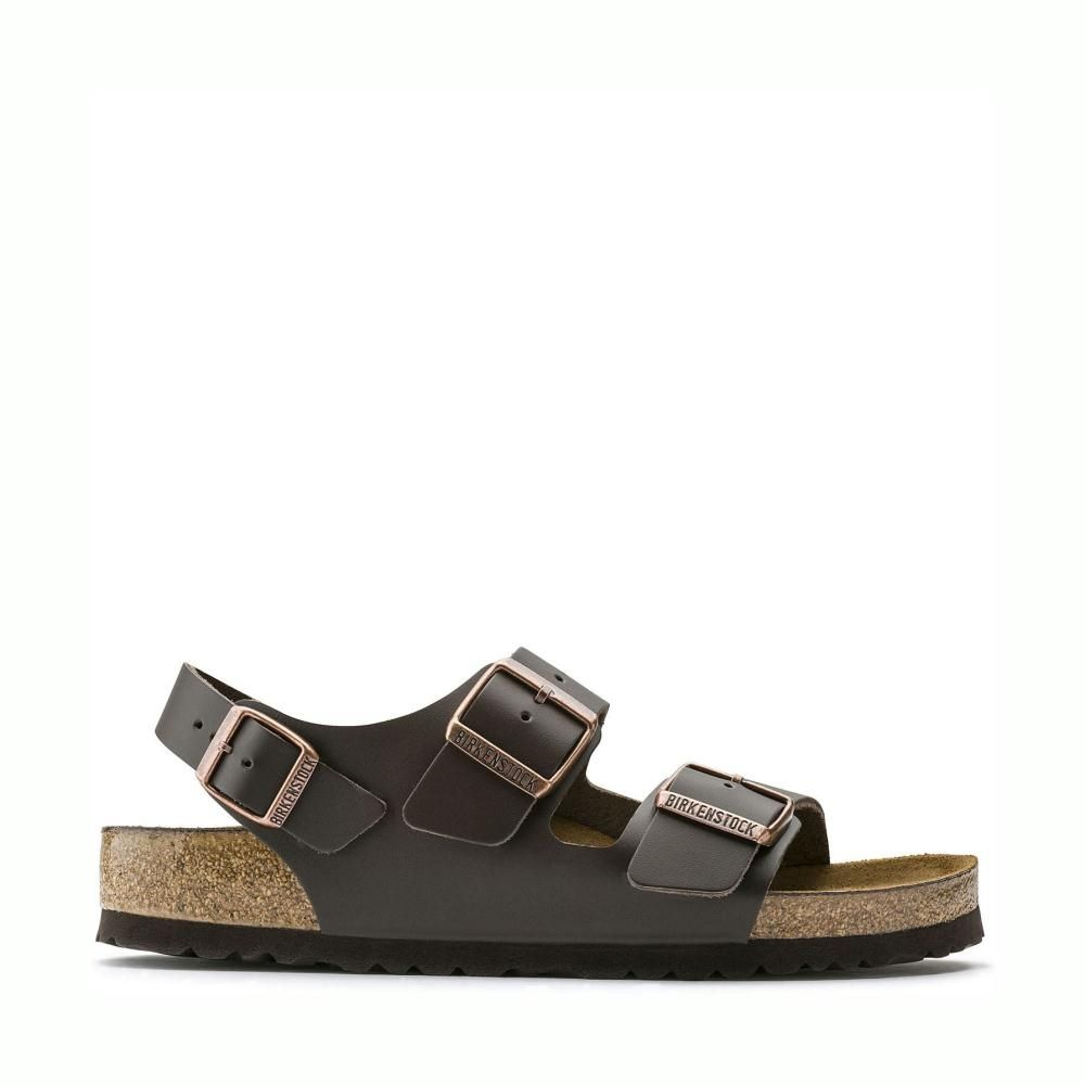Birkenstock Milano 34101 Dark Brown
