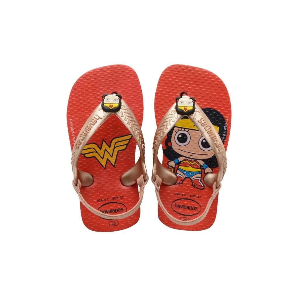 Havaianas Baby Heroes Ruby Red