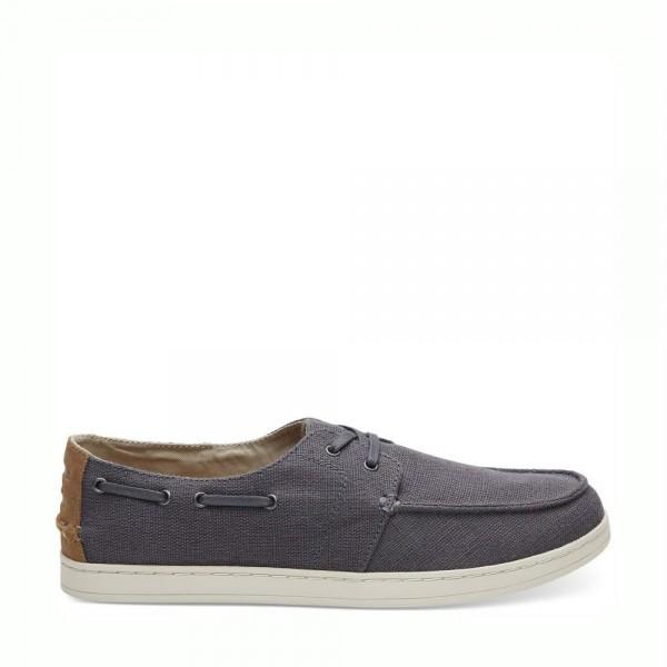 TOMS Culver Boat Shoes Shade Heritage