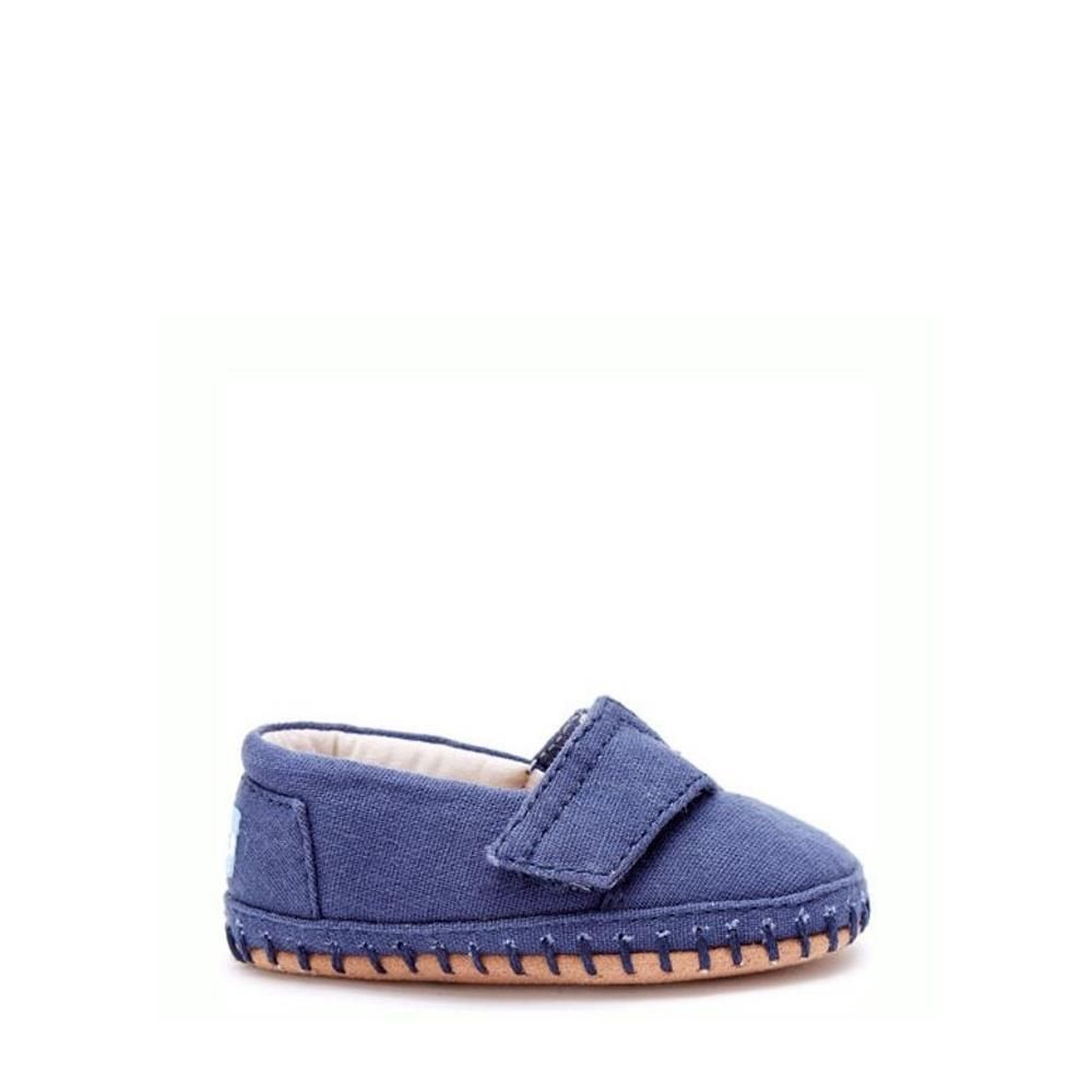 TOMS Alpargatas Crib Navy Canvas