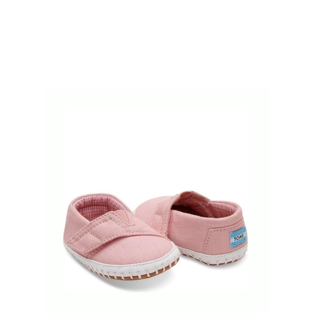 5d44500ff TOMS Alpargatas Crib Pink Canvas - Mau Feitio