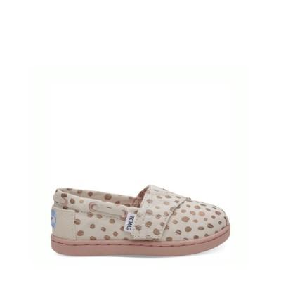 TOMS Baby Bimini Rose Gold Dots