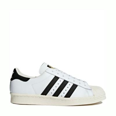 Adidas Superstar 80s White Black