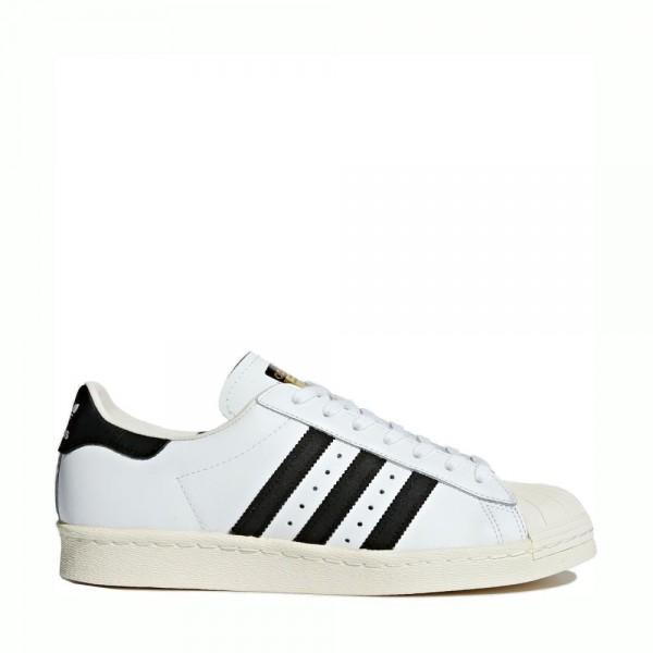 Adidas Superstar 80s White Black - Mau Feitio 58c683123eb8d