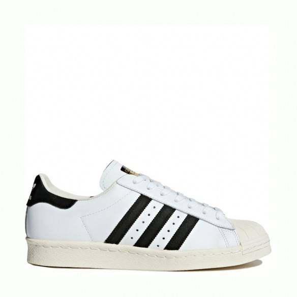 Adidas Superstar 80s White Black G61070