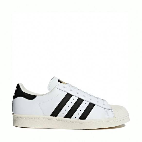 Adidas Superstar 80s White Black G61070