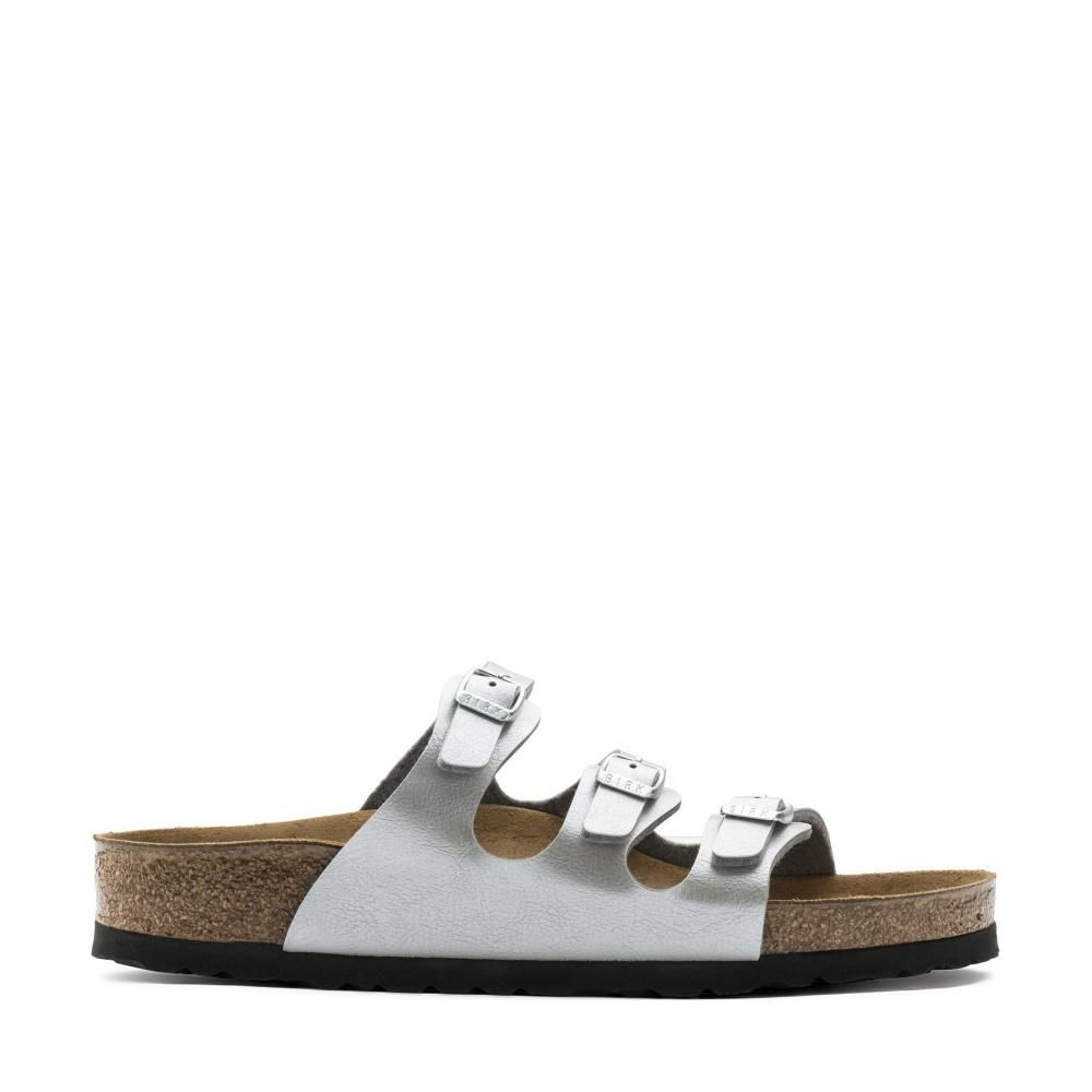 Birkenstock Florida 1009601 Graceful Silver