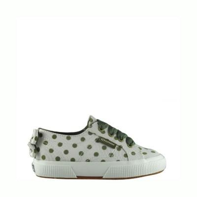 Superga Kids 2750 Grossgrainflocked Pink-Fuxia Dots