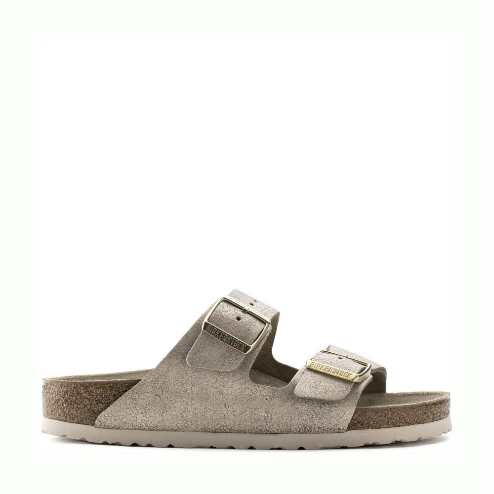Birkenstock Arizona 1008800 Washed Metallic Rose Gold