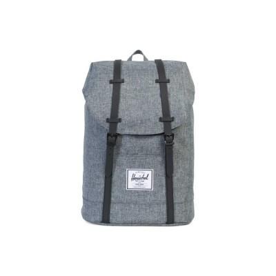 Herschel Retreat Backpack Raven Crosshatch