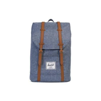 Herschel Retreat Backpack Dark Chambray Crosshatch