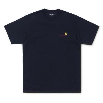 Carhartt American Script T-Shirt Dark Navy