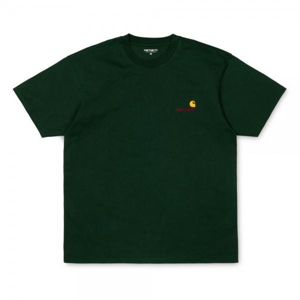Carhartt American Script T-Shirt Loden